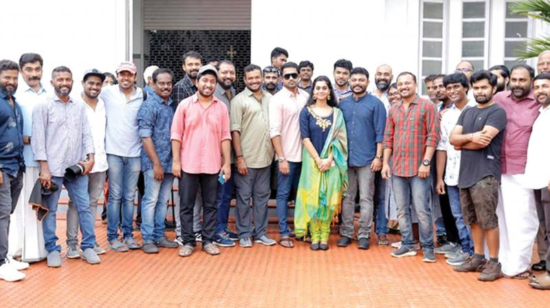 The film, which marks the directorial debut of popular radio jockey Mathukutty, who has written the script too, has the multi-talented Vineeth Sreenivasan as the creative director.