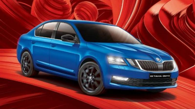 Skoda has introduced a sportier version of the Octavia called the Onyx edition.