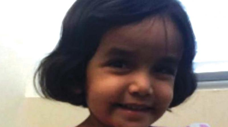 A petition has been started by community leader Father Thomas to not hand over the body of Sherin Mathews to her parents, and rather to the community, so that proper memorial and burial service could be done. (Photo: File)