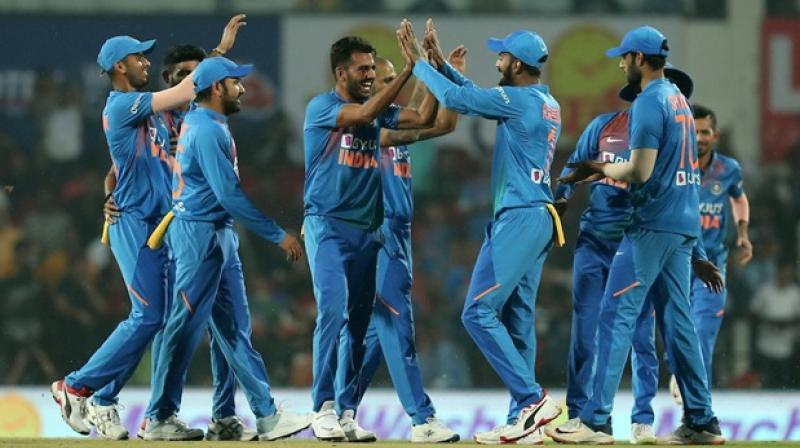 In the last T20I match, India might have scrapped through to win the match by 30-runs to seal the home series 2-1. If it were not for Shivam Dube's vital spell, which had sent back all set Mohammad Naim, Captain Mahmudullah Riyad and Mushfiqur Rahim, India would have let Bangladesh script history by registering their first away series win over the hosts. (Photo:Twitter)
