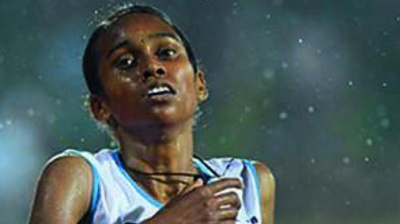 Asian Athletics gold medalist P. U. Chitra
