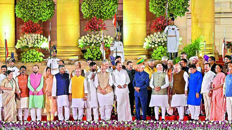 The BJP managed to restrict dynasty to 22 per cent of candidates, whereas it is 31 per cent in the Congress which indicates better control of the BJP over dynasts when compared to the Congress. (Photo: PTI)