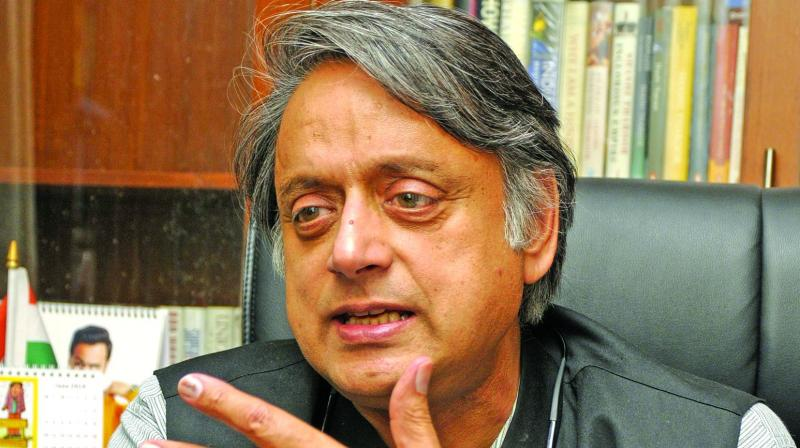 Not a realistic request: Tharoor on making Sanskrit as official language