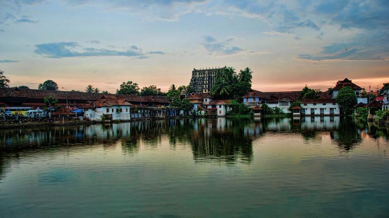 Sree Padmanabhaswamy temple in Thiruvananthapuram. (Photo: Wikimedia Commons)