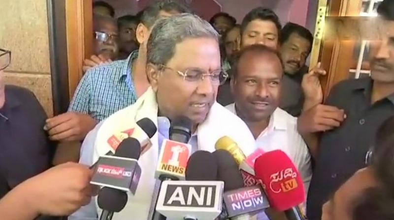 Karnataka Chief Minister Siddaramaiah expressed confidence that Congress will win over 120 seats in the state. (Photo: ANI | Twitter)