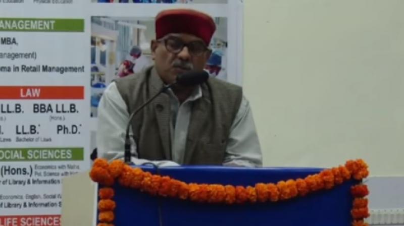 RSS leader Krishna Gopal. (Photo: Youtube/Screengrab).