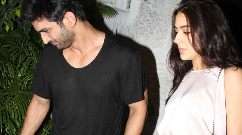 Sushant Singh Rajput and Sara Ali Khan were snapped a few months ago discussing the film with Abhishek Kapoor in the suburb.