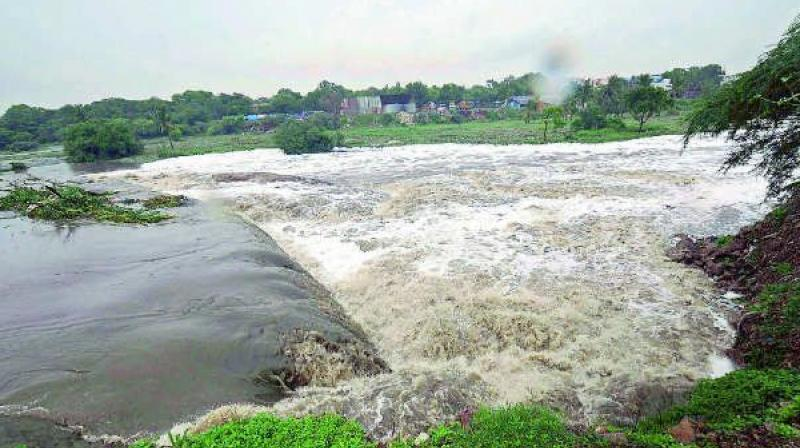 Though the recent heavy floods hit several regions of Karnataka and few areas of Kurnool and other coastal areas, several parts of Rayalaseema are in rain deficit situation and are unable to get drinking water everyday.