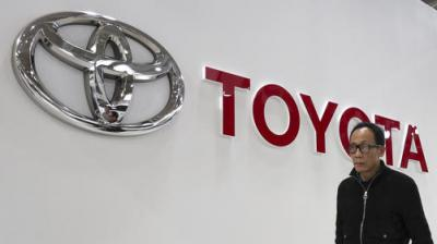 Toyota Motor Corporation's quarterly sales rose 4 per cent to 7.6 trillion yen (USD 70 billion), compared to the previous year. (Photo: File | AP)