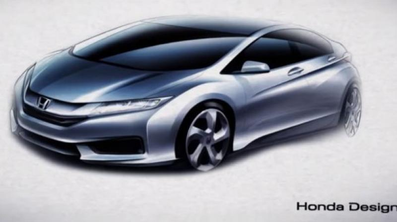 The new Honda City is expected to launch in India in the second-half of 2020.