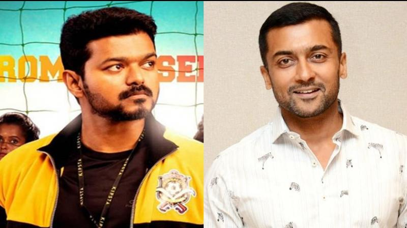 Vijay and Suriya. (Photo: Instagram)