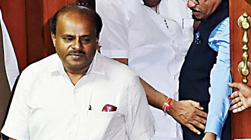 The political war over charges of horse-trading had escalated in Karnataka Friday with Kumaraswamy releasing an audio clip in which Yeddyurappa is purportedly trying to lure a JD(S) MLA for destabilising the coalition government. (Photo: File)