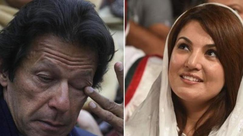 Once again, Reham spoke on her tell-all autobiographical book. (Photo: AP / AFP)