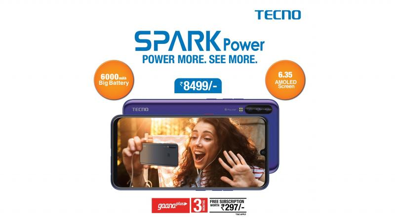 TECNO SPARK POWER is the latest addition to the brand's popular and globally acclaimed SPARK series