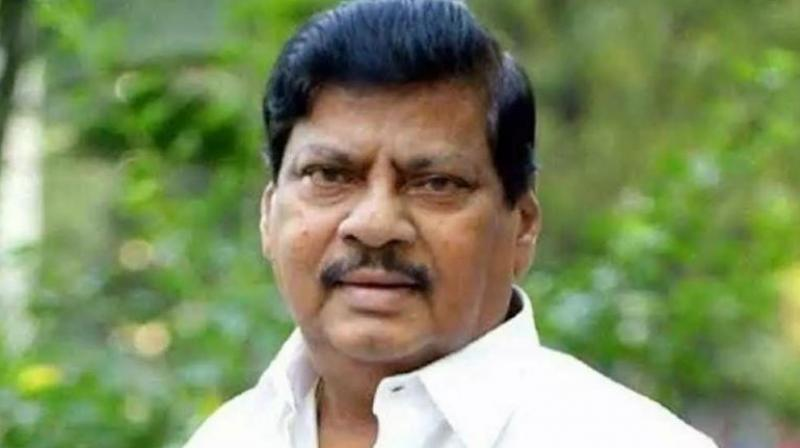 Senior Telugu Desam Party leader and former MP N Sivaprasad died due to renal failure on Saturday, party sources said. (Photo: Twitter/ ANI)