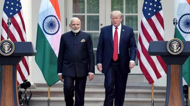Prime Minister Narendra Modi and US President Donald Trump (Photo: File | PTI)