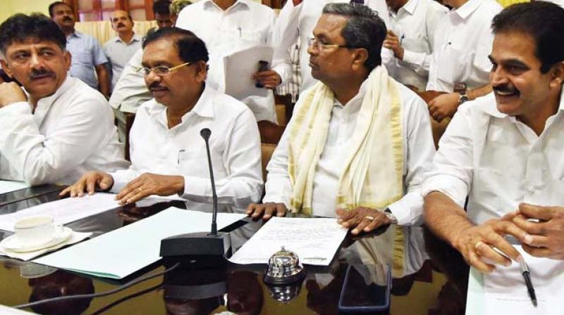 Image result for kc venu with dk shivakumar