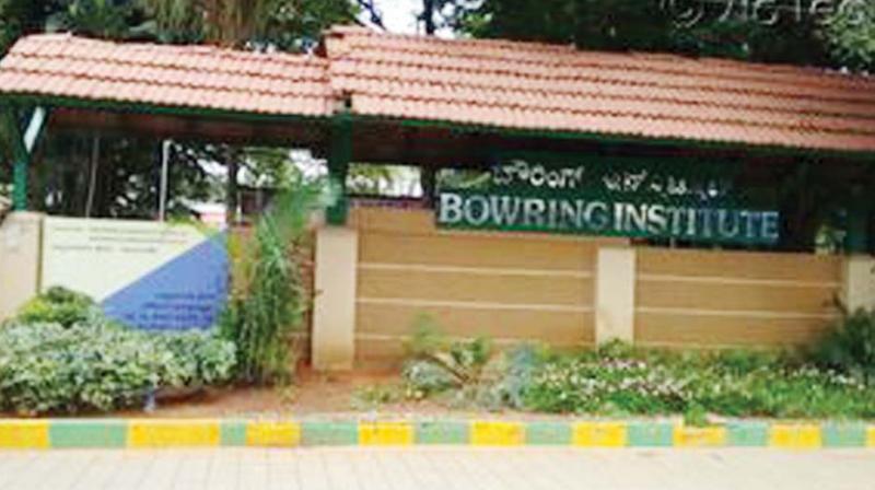 Bowring Institute.