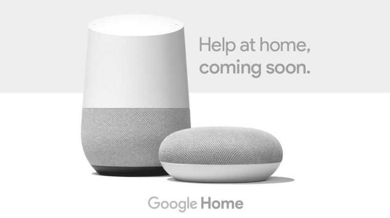 Google has already teased the launch of the Google Home and Google Home Mini speakers.
