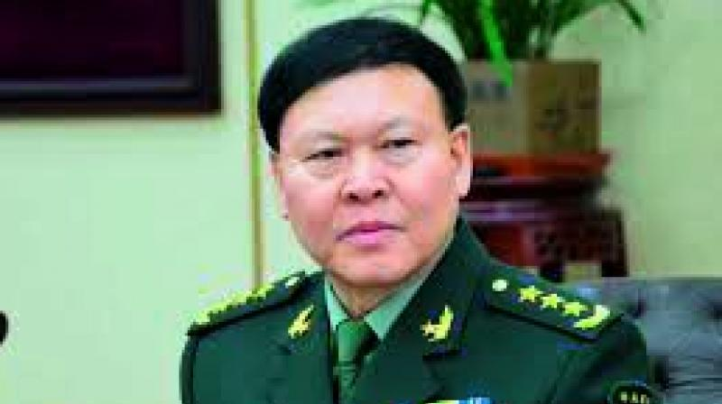 Senior Chinese military official kills himself amid corruption probe