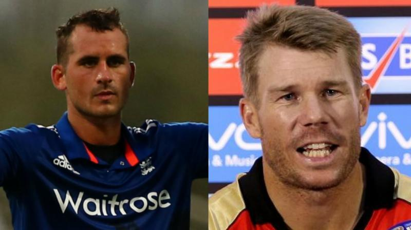 Sunrisers Hyderabad ropes in Alex Hales as Warner's replacement in IPL 2018