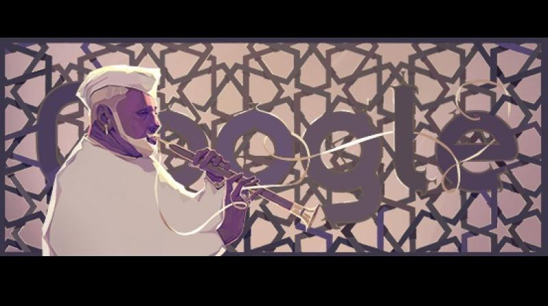 Google Doodle honors shehnai maestro Ustad Bismillah Khan on his birthday