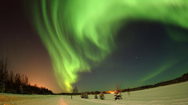 See the Northern Lights from this quirky hotel in Finland. (Photo: Pexels)