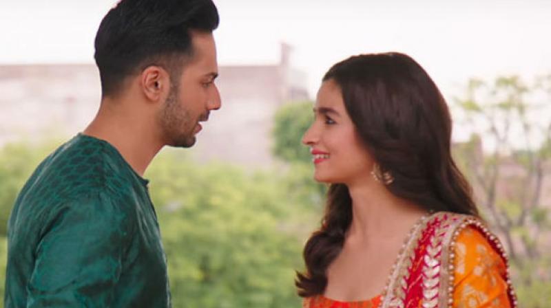Varun Dhawan and Alia Bhatt in 'Badrinath Ki Dulhania.'