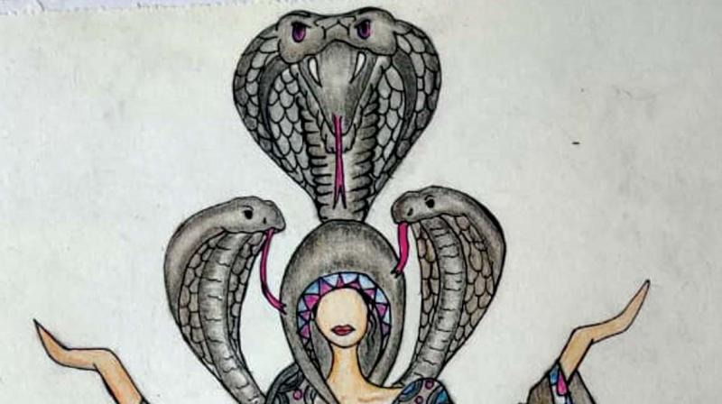 A sketch by Divya Daya