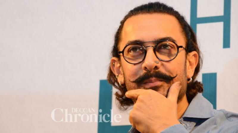 Aamir Khan is currently shooting for 'Thugs of Hindostan.'