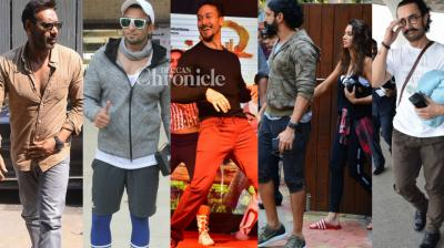 Bollywood celebrities were spotted at various events for personal and professional reasons in Mumbai on Tuesday. (Photo: Viral Bhayani)