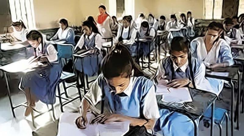 With the 10th examinations around the bend there are a lot of students fighting off nervousness and anxiety. Thanks to the extreme hype about board exams, in the wake of poor performances, several youngsters sink into depression and even harbour suicidal tendencies. Poor grades become too heavy a burden, and children cave in to pressure.