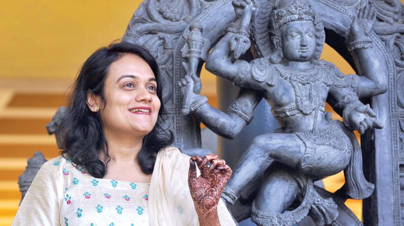 Deepti Navaratna, regional director of the Indira Gandhi National Centre for Arts. (Photo: DC)