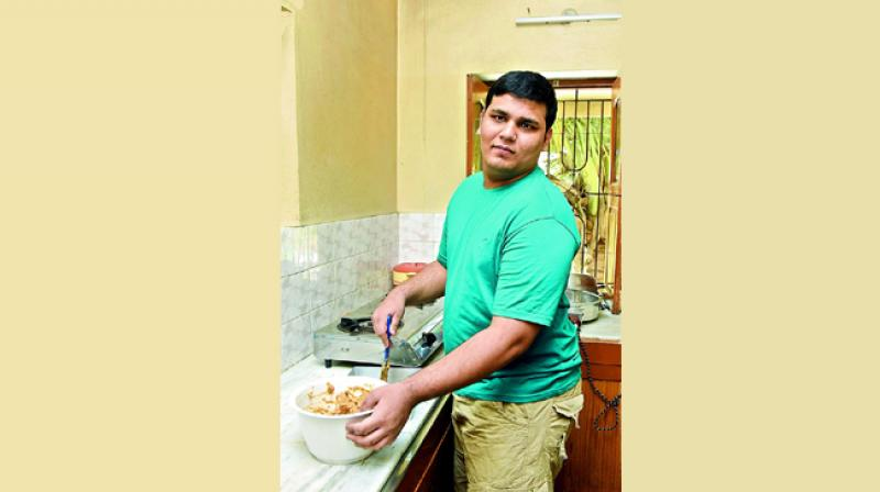 Since he took up baking, I see a sense of satisfaction and accomplishment in him: Maria, Roshan's mother.