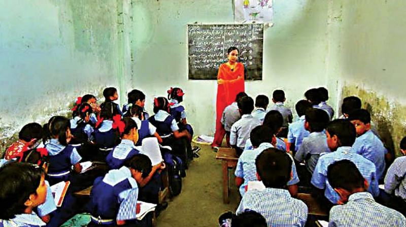 According to a notification, students of class 1-12 of the government, grant-in-aid and self-financed schools will have to respond to the attendance call with 'Jai Hind' or 'Jai Bharat', starting January 1. (Representational Image)