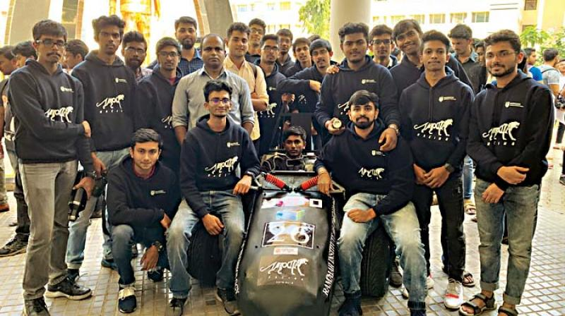 Team Velocita Racing from Ramaiah Institute of Technology with their Formula Race Car  (Image DC)