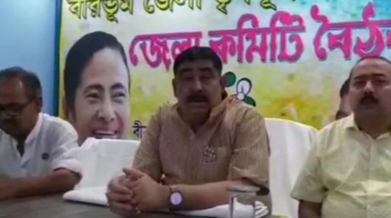 Anubrata Mandal is the party's observer in three assembly constituencies - Mangalkot, Ausgram and Ketugram - in East Burdwan district. (Photo: ANI | Twitter)