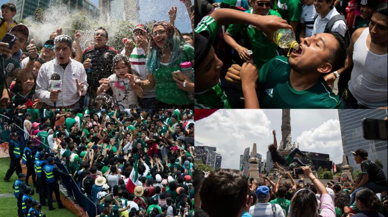 FIFA World Cup 2018: Mexican Hits Goal and the jubilation creates