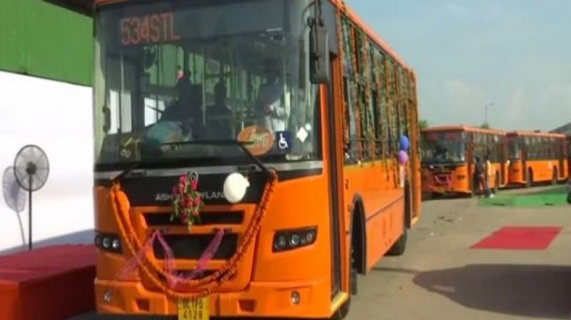 In addition to these, 1,000 each of low floor air-conditioned and electric buses each will also be added to the existing fleet.  (Photo: ANI)