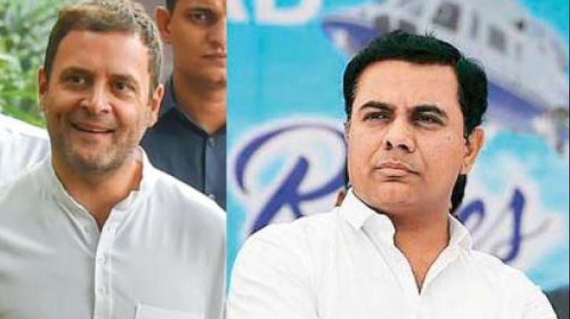 , Rama Rao alleged that the BJP leaders were day-dreaming of coming to power in Telangana by creating a wedge among the people in the name of religion.  (Photo: File)