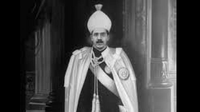 'Nizam VII (Mir Osman Ali Khan) was beneficially entitled to the fund and those claiming in right of Nizam VII - the Princes and India - are entitled to have the sum paid out to their order,' Justice Marcus Smith of the Royal Courts of Justice in London ruled. (Photo: Twitter)
