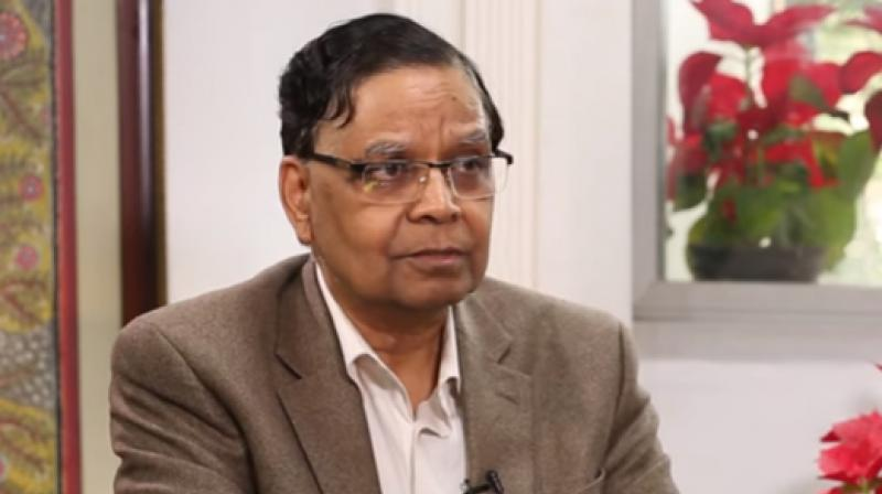 Former Niti Aayog vice chairman Arvind Panagariya.
