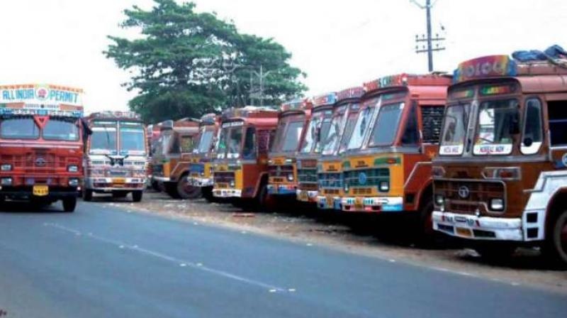 lorry strike continues enters 7th day