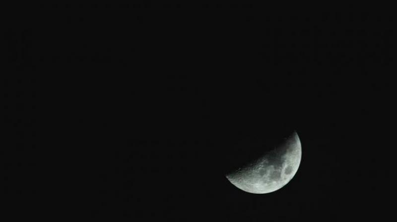 Once the Earth starts moving out of the straight line, the moon begins to emerge first as a cresent and then in its entirety on Saturday post 3.49 am.  (Photo: File)