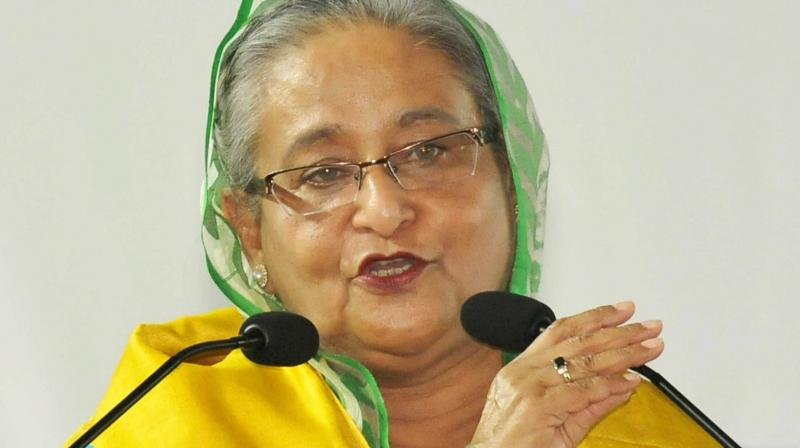 Sheikh Hasina is in no mood to yield. Haunted by the brutal killing of almost her entire family, she cannot forget that Begum Zia's husband was not only the eventual beneficiary of that bloodbath but that he did nothing to punish the murderers. (Photo: PTI)