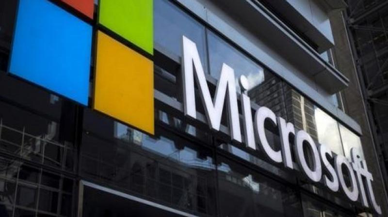 Microsoft patents for a tablet with triple screens. (Photo: ANI)