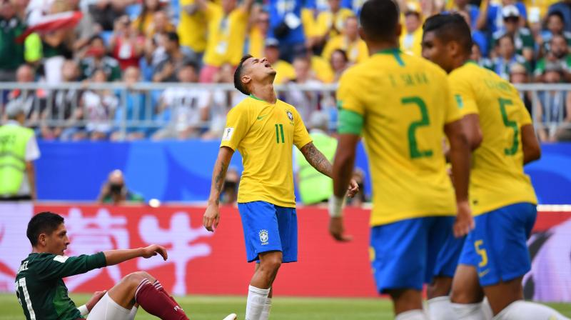 Neymar stars as Brazil prove too much for gallant Mexico