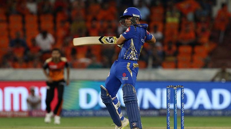 Kishan batted at number four in place of Yuvraj who had managed to tally 98 runs in the first four games. (Photo: BCCI)