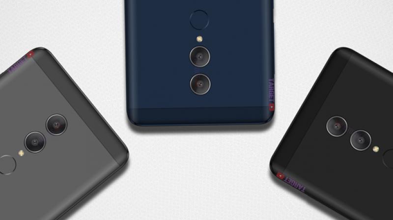 Leaked Redmi Note 5 renders (credit: Targetyoutube)