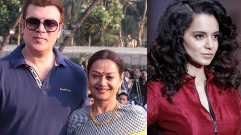 After keeping mum since Kangana Ranaut's commments against her and husband Aditya Pancholi, Zarina Wahab has reacted.
